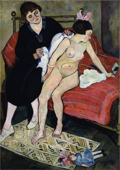 Portrait of Maurice Utrillo - Suzanne Valadon - WikiPaintings.org  www.artexperiencenyc.com