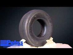 Carlisle Straight Rib Lawn Mower Tire 13x5.00-6