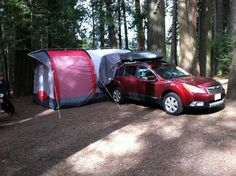 Subaru Outback Tent Camping Options | Outback - Subaru Outback Forums - tunces outback's Album: camping ...
