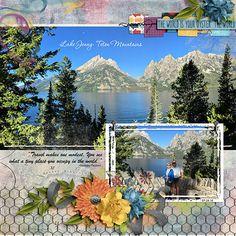 Tetons Mountains - Digishoptalk - The Hub of the Digital Scrapbooking Community