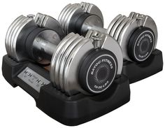 I want the 25lb. adustable dumbells so I can do Chalene Extreme!