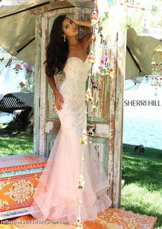 Shop RaeLynn's Boutique for Sherri Hill 2020 prom dresses, pageant dresses, and formal evening gowns for special occasions. Sherri Hill Prom Dresses, Prom Dresses 2016, Tulle Prom Dress, Dressy Dresses, Pageant Dresses, Prom 2016, Party Dresses, Strapless Gown, Prom Gowns