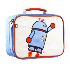 The robot lunch box that combines childlike whimsy and imagination with grown-up modern style and quality!