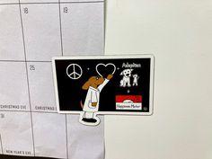 Love Plus, Binky, Refrigerator Magnets, Cartoon Dog, All Dogs, Dog Art, Dog Lovers, Adoption, Happiness