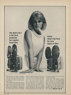 Ads from the past! Vintage Advertisements, Vintage Ads, Vintage Stuff, Super Video, Super 8 Film, 8mm Film, Retro 2, Record Players, Tv Ads