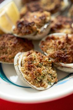 How To Make The Greatest Baked Clams - How To Make The Greatest Baked Clams Imágenes efectivas que le proporcionamos sobre healthy meal pr - Clam Recipes, Seafood Recipes, Appetizer Recipes, Cooking Recipes, Asian Recipes, Oyster Recipes, Cooking Fish, Healthy Appetizers, Cooking Ideas