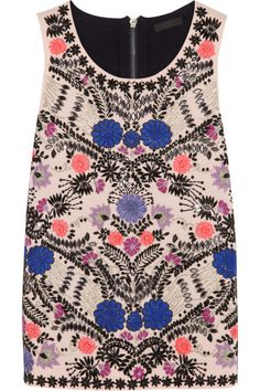 Jcrew Collection Embellished Top