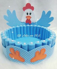 Foam Crafts, Diy And Crafts, Crafts For Kids, Diy Y Manualidades, Heartfelt Creations Cards, Chicken Crafts, Easter Egg Crafts, Art N Craft, Frozen Birthday Party