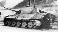 Lake Balaton offensive, Hungary, March 1945 - a strategic irrelevance carried out at Hitler's insistence.  This final Nazi attack of the war simply lacked the strength to reinforce early success, and most German armour met the same fate as this Tiger II once the Soviets rallied.