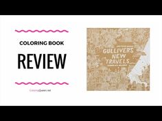 Gullivers New Travels Coloring Book Review - this book by Australian artist, James Gulliver Hancock showcases his travels and memories from around the world within the coloring pages.    Click through to see the full #colouringbookreview