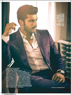 A New State of Being: Arjun Kapoor covers Verve June issue The Verve, Arjun Kapoor, Man Fashion, Bollywood Actors, Magazines, Groom, June, Cinema, Handsome