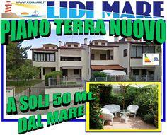 Villa Piano Terra a soli 50Mt. dal MARE, in Lido di Pomposa, Comacchio, Completamente Ristrutturata a Nuovo.