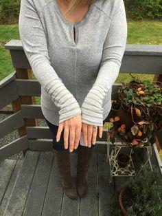 XO Kerry | December Stitch Fix Review Loveappella Tiffina Knit Top & Liverpool Kay Skinny Jean