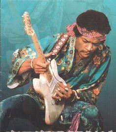 Jimi Hendrix -Guitars -Music artists