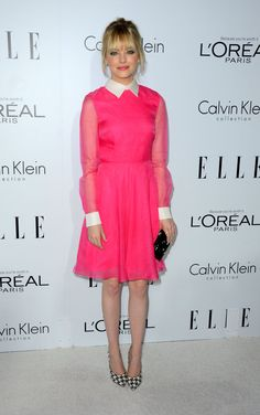 Emma Stone is pretty in pink!
