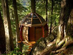 The best-kept secret tree house. The HemLoft is a self-funded secret creation built on crown land in Whistler, Canada.
