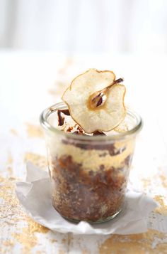Crushed Nashi Pears - Beautiful Food, Tasty Recipe