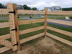 Beautiful wood slip board fence 5' high with weld wire mesh installed in Walnutport, PA by Ryan & his crew from #triborofence #woodfence Wire And Wood Fence, Welded Wire Fence, Dog Yard, Dog Fence, Backyard Privacy, Backyard Fences, Pallet Board Fence, Outdoor Projects, Home Projects