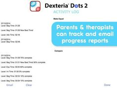 Dexteria Dots 2 - Fine Motor Skills and Math Concepts - 2 mini-games for math concepts and motor skills practice. Progress Report, Math Concepts, Mini Games, Fine Motor Skills, Preschool, Dots, Parenting, Teacher, Activities