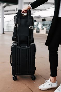 So today I wanted to share with you some of my favorite travel luggage as well as my airport… Calpak Luggage, Bugatti, Travel Capsule, Rimowa, Carry On Suitcase, Fashion Jackson, Slow Travel, Travel Organization, Travel Light