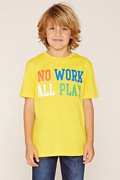 Boys All Play Tee (Kids)