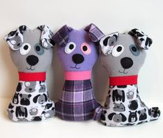 Sewing patterns for soft toys & rag dolls