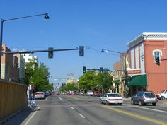 2012 Great Places in America: Streets - Main Street, Bozeman, Montana. Main Street is located in the heart of the picturesque Gallatin Valley. The nomination of the Main Street Historic District to the National Register of Historic Places in 1987 brought an eclectic mix of businesses and residents to downtown. Flickr photo by J. Stephen Conn (CC BY-NC 2.0).
