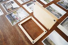 two-part magnetic frame made of wood Magnetic Frames, Made Of Wood, Magnets, Home And Garden, Kindergarten, Home Decor, Photo Mural, Birch, Picture Frame