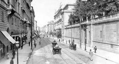 Via Nazionale Anno: 1897 Vintage Italy, Sicily, Bed And Breakfast, Old Photos, Rome, Street View, America, History, Places
