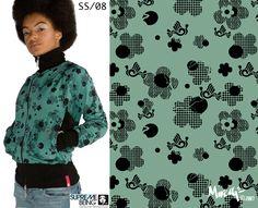 Supremebeing Womenswear SS/2008 | Print Direction and Design |  Mirella Bruno Print Design 2007.