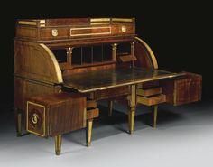 Intricate Desk  by David Rotengen 1743 - 1807