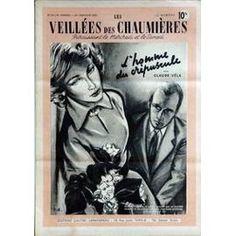 Veillees (Les) N° 25 Du 26/01/1952 - Lectures Romanesques - Tricots- Ouvrages - Enquetes - Cuisine L'homme Du Crepuscule De Claude Vela.