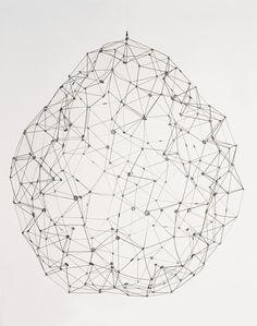 Gego (Gertrude Goldschmidt), Sphere, 1976 @ the RA's Radical Geometry exhibition