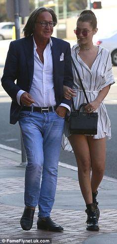 Famous family: Real-estate developer Mohamed has three children with ex-wife Yolanda Foste...
