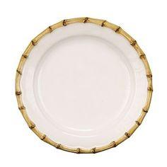 Juliska - Classic Bamboo Natural Dessert/Salad Plate