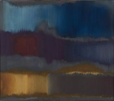 Fritz Winter, Grau-Blau, 1964