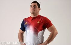 XV de France adidas 2016 2017 6 Nations, World Cup Rugby Away Jersey, Kit, Shirt Maillot