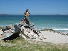 Mermaid at Club Mykonos - Langebaan Club Mykonos, My Land, Cape Town, Continents, South Africa, Greece, Scenery, African, Ocean