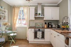 Kitchen Island, Kitchen Cabinets, Home Decor, Cottage House, Island Kitchen, Decoration Home, Room Decor, Cabinets, Home Interior Design