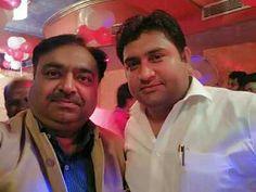 YOGRAAJ SHARMA with Sandeep kumar minister Delhi Government