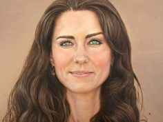 A portrait of Duchess Catherine painted by Macleay Island artist David Wellea for the #royal visit 2014