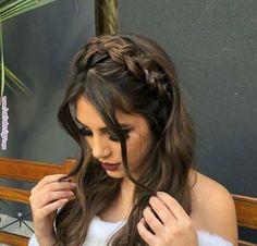 - New Site - frisuren - Wedding Hairstyles Box Braids Hairstyles, Pretty Hairstyles, Wedding Hairstyles, Evening Hairstyles, Dance Hairstyles, Homecoming Hairstyles, Clubbing Hairstyles, Hairstyle Ideas, Long Hairstyles