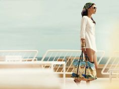 Louis Vuitton Cruise Collection 2008 St. Tropez Galliera, Louis Vuitton handbags, Louis Vuitton totes, style, sunglasses, swimsuits