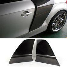 Haute Qualité R8 Rechercher TT Porte Fender Carbone Voiture bord de garde Pour Audi Fit 2010UP TT(Hong Kong)