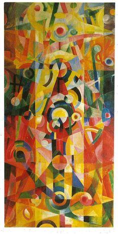 Johannes Itten (1888-1967) was een Zwitserse kunstschilder, ontwerper en docent. Hij is vooral bekend geworden vanwege zijn theoretisch werk in verband met het Bauhaus en zijn kleurenleer. Tussen 1919 en 1922 gaf Itten les aan het Bauhaus. Itten nam ontslag na een ruzie met Walter Gropius over commercieel werken binnen Bauhaus. Itten was van mening dat meditatie belangrijker was dan werken.