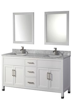Order MTD Vanities Ricca Modern / / Free Standing / Undermount Sink / 1 /  Ceramic White / White / Soft Closing / White, Delivered Right To Your Door.