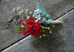 March boutonniere by RANE flowers
