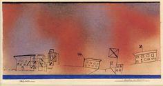 Paul Klee Feast day in winter