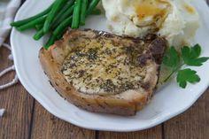 Pan Grilled Pork Chops