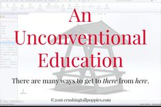 An Unconventional Education